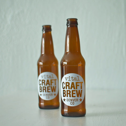 Custom Printed Beer Bottles