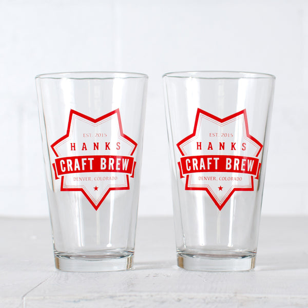 Customized Pints - Craft Brew