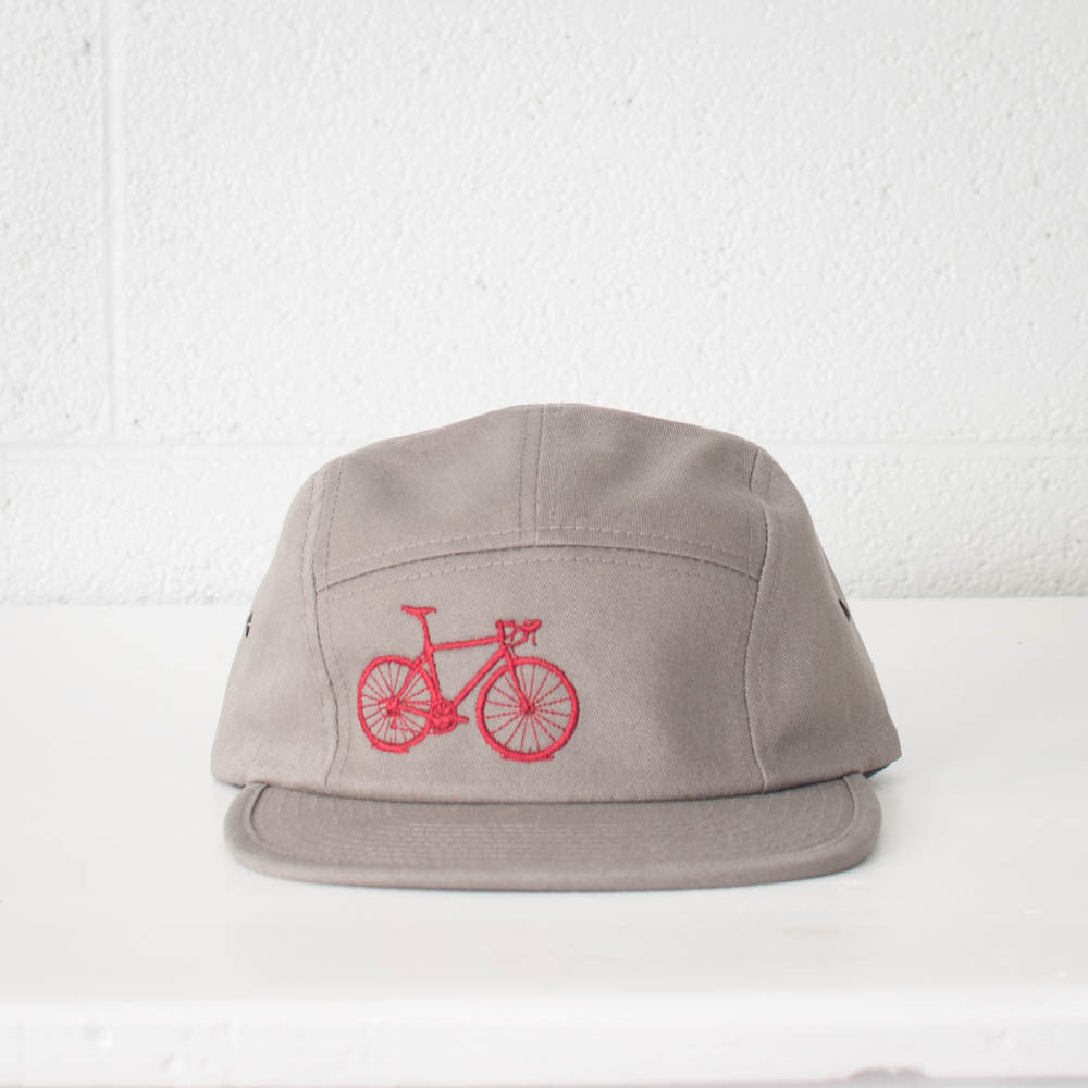 Bicycle 5 Panel Hat