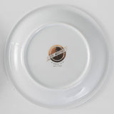 Gold Bicycle Dinner Plate
