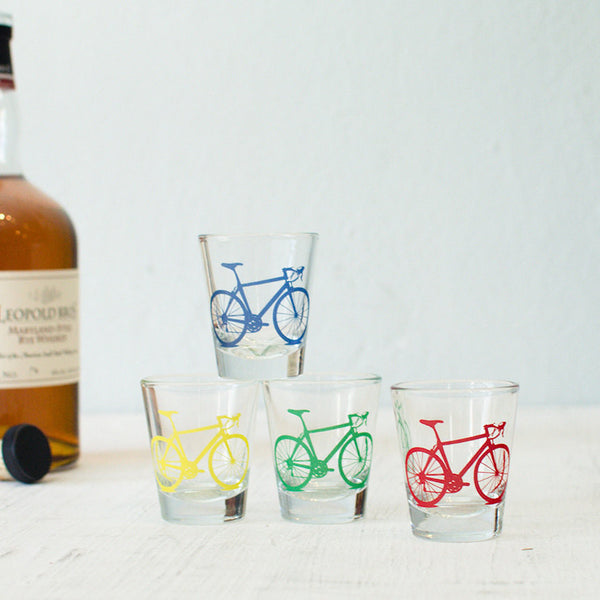 Bicycle Shot Glasses