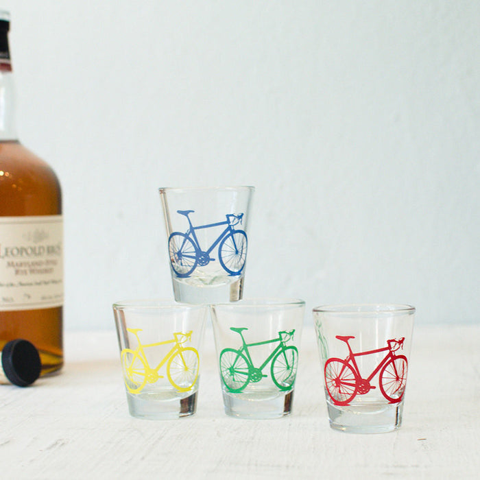 Bicycle Shot Glasses - Vital Industries