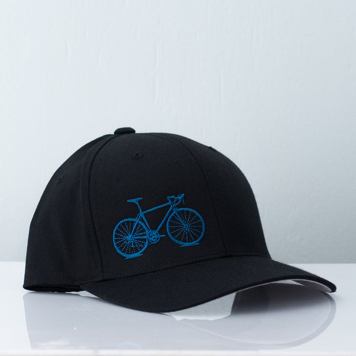 Teal and Black Flexfit Hat - Vital Industries