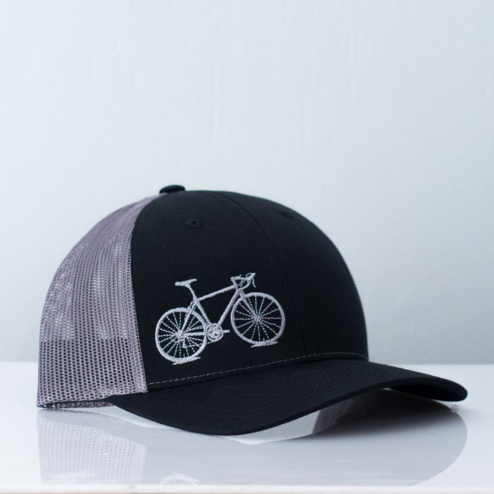 black-road-bike-trucker-hat-vital-industries