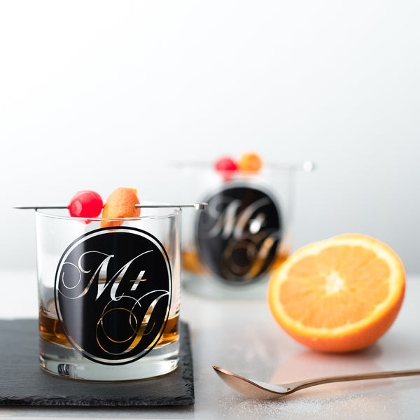 Monogram Glasses - Round - Vital Industries