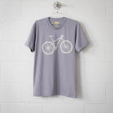 Mountain Bike Men's Tee, Stone on Slate