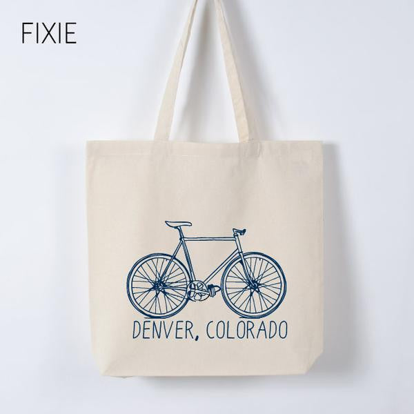 Customized Bike Tote