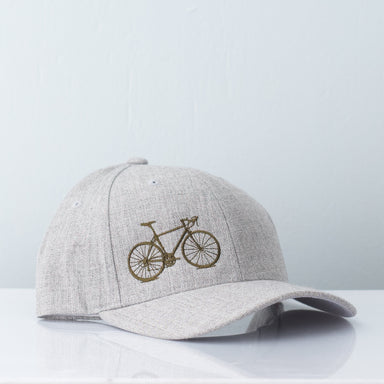 Bicycle Melange Cap - Grey