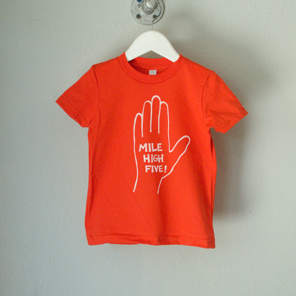 SALE Mile High Five! Toddler Tee