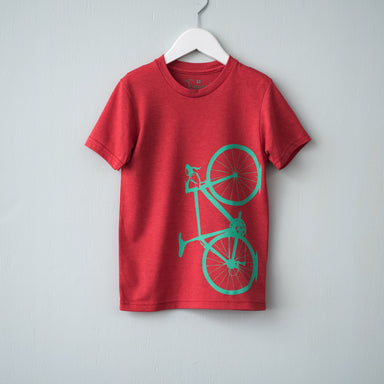 Toddler Tri-Blend Road Bike Tee - Vital Industries