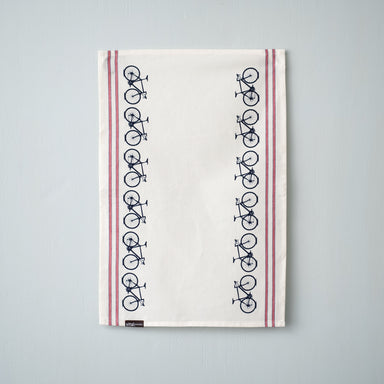 Road Bike Stripe Tea Towel - Vital Industries
