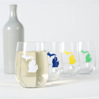 State Stemless Wine Glass O-Z - Vital Industries