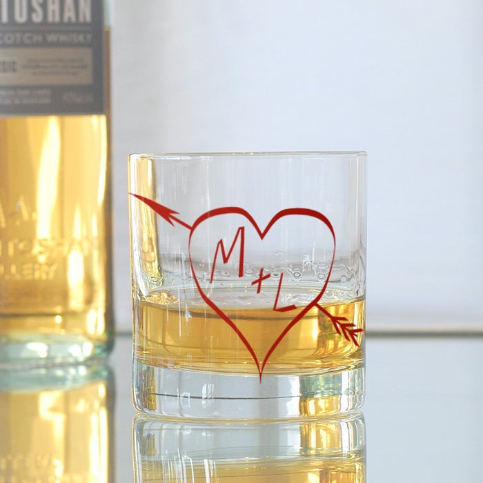 Monogram Glasses - True Love - Vital Industries