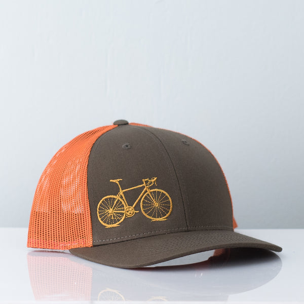 trucker-hat-goldenrod-olive-vital-industries