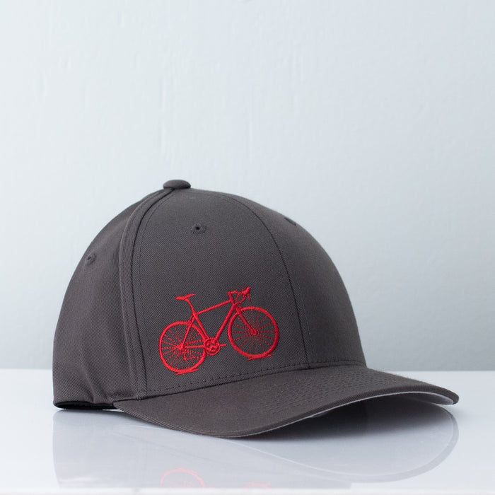 Electric Red Flexfit Hat - Vital Industries