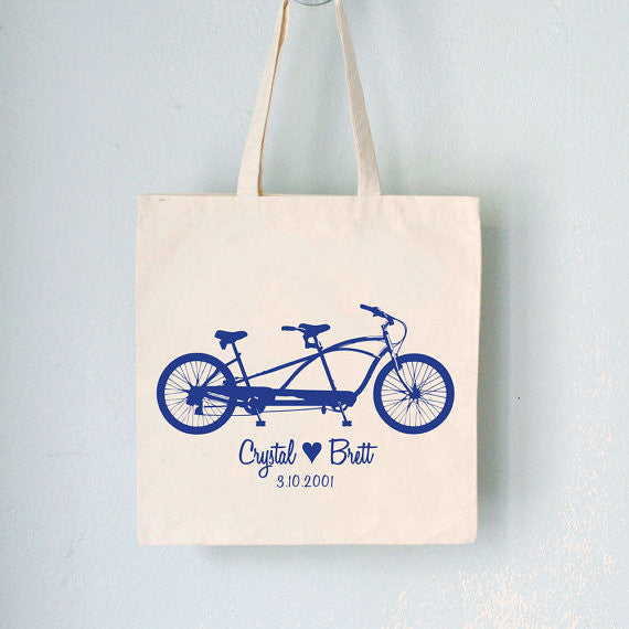 Customized Promo Tote, Wedding Tandem