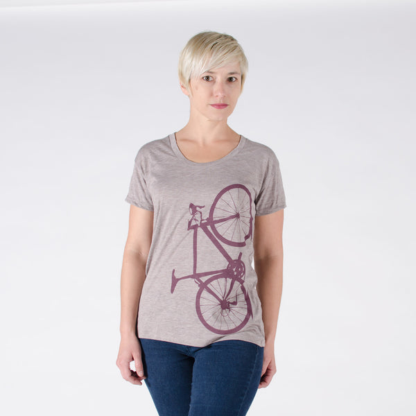 Women's Scoop Neck Bicycle Tee