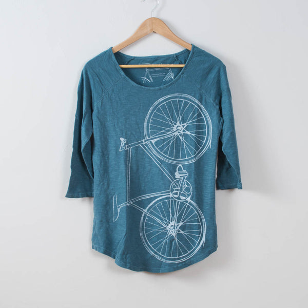 Women's Raglan Fixie Baseball Tee