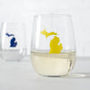 State Stemless Wine Glass A-L