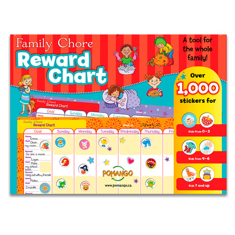 Reward Chart - Tableau familiale de motivation