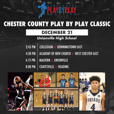 Chester County Play By Play Classic 12/21