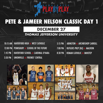 Three-day event! Pete & Jameer Nelson Classic begins Friday 12/27