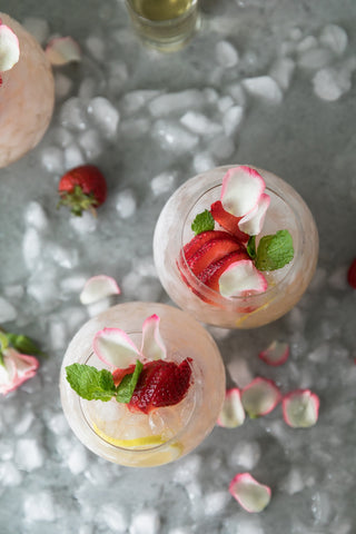 Rose Lemonade Elderflower Sangria