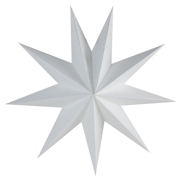 "12"" Hanging Paper Star Decor - Apartment 201"