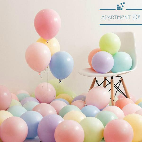 Candy Colored Party Balloons - Apartment 201