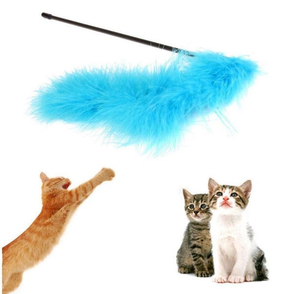 Puffy Tail Cat Teaser Toy - Apartment 201
