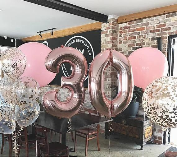 40 inch Number Balloon - Apartment 201