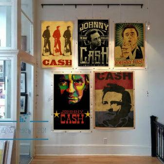 Johnny Cash Vintage Posters - apt201