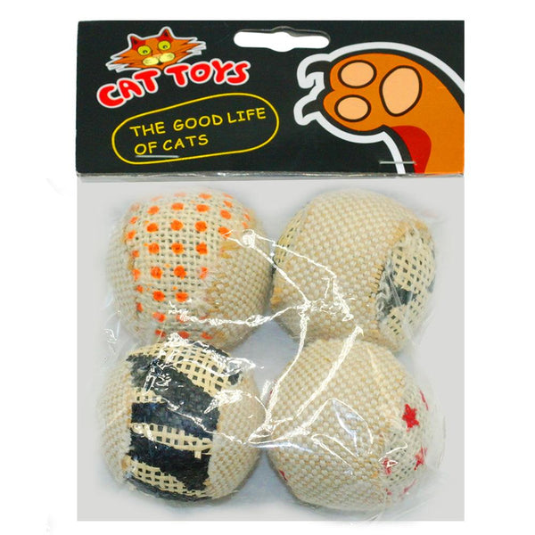 Rolly Polly Cat Toy Pack of 4 - Apartment 201