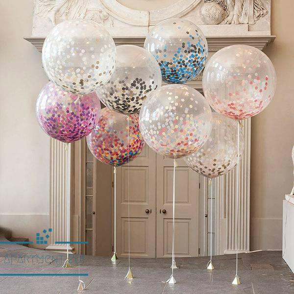 "12"" Confetti Balloons - Apartment 201"