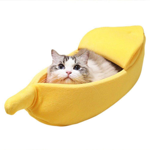 Banana Rama Pet Bed - apt201