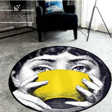 Fornasetti Round Rugs - Apartment 201