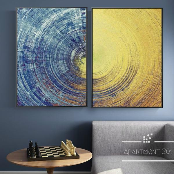 Day & Night Series Wall Art - Apartment 201