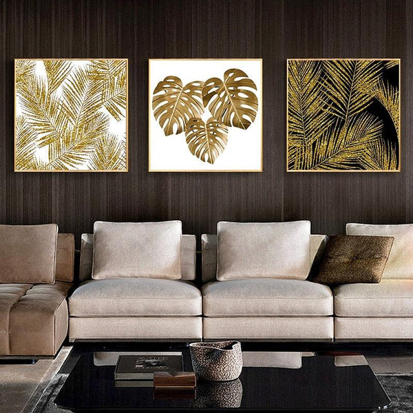 Abstract Elemental Canvas Wall Art - Apartment 201