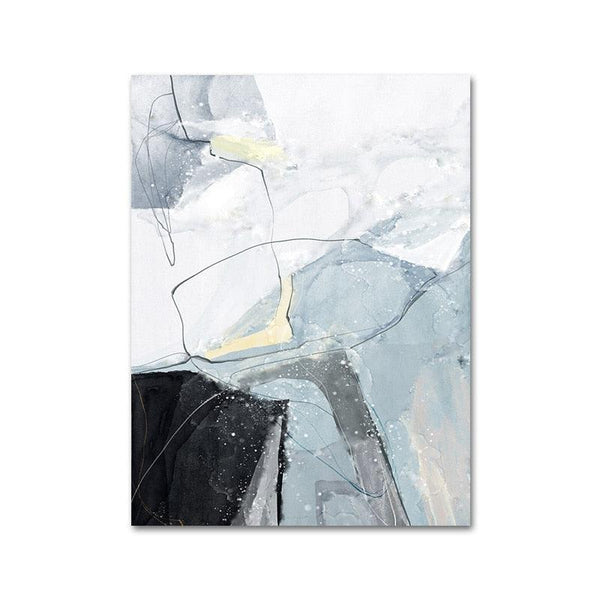Nordic  Marble Canvas Wall Art - apt201