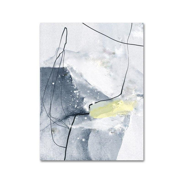 Nordic Marble Canvas Wall Art - Apartment 201