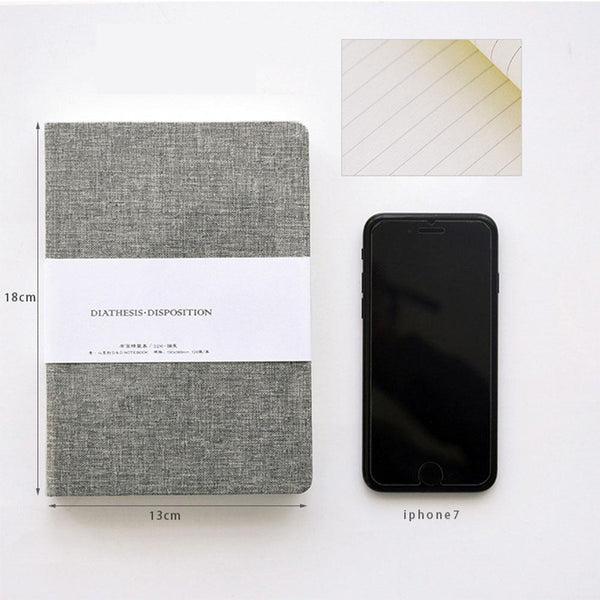 Fabric Covered Notebook - apt201