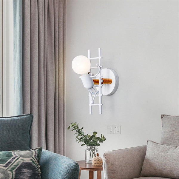 Maximo Industrial Wall Light - Apartment 201