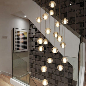 Post Modern Crystal Round Ball Pendant Lights - Apartment 201