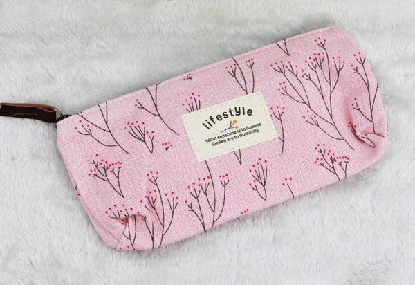 Spring Blossom Pencil Case - apt201