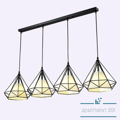 Bird Cage Pendant LED Lights - Apartment 201