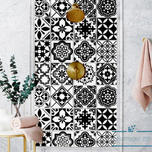 Nordic Geo Style Tile Stickers - Apartment 201