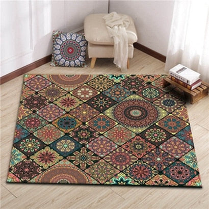 Bohemian Mosaic Area Carpets - Apartment 201