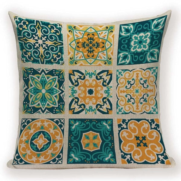 Mosaic Patterned Cushion Covers - Apartment 201