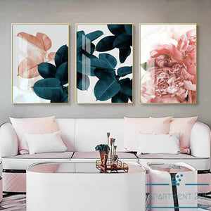 Botanical Bliss Canvas Wall Art