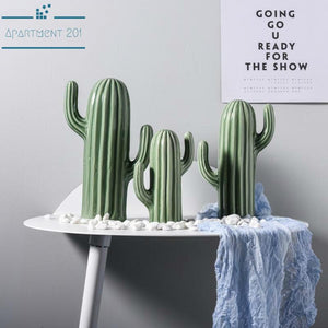 Cactus Deco Figurine - Apartment 201